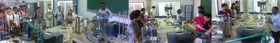 Atividades práticas em laboratório